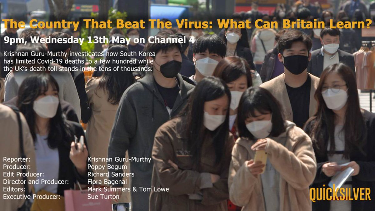 The Country That Beat The Virus: What can Britain learn? Tonight at 9pm on @Channel4