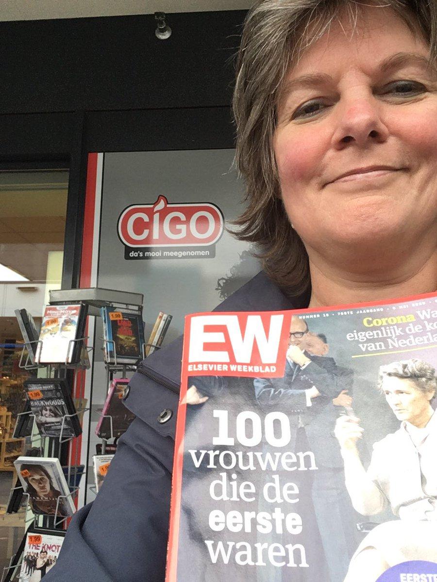 Dag 4: Tijdschrift gekocht bij de Cigo in Assen-Oost. Over 100 'eerste vrouwen'. Soms nog best recent in hun functie.... we zijn er nog niet!   Ik doe mee aan de  #ondernemerschallenge 📦 Koop een week lang elke dag lokaal in Drenthe. https://t.co/9gOkpUyYvL