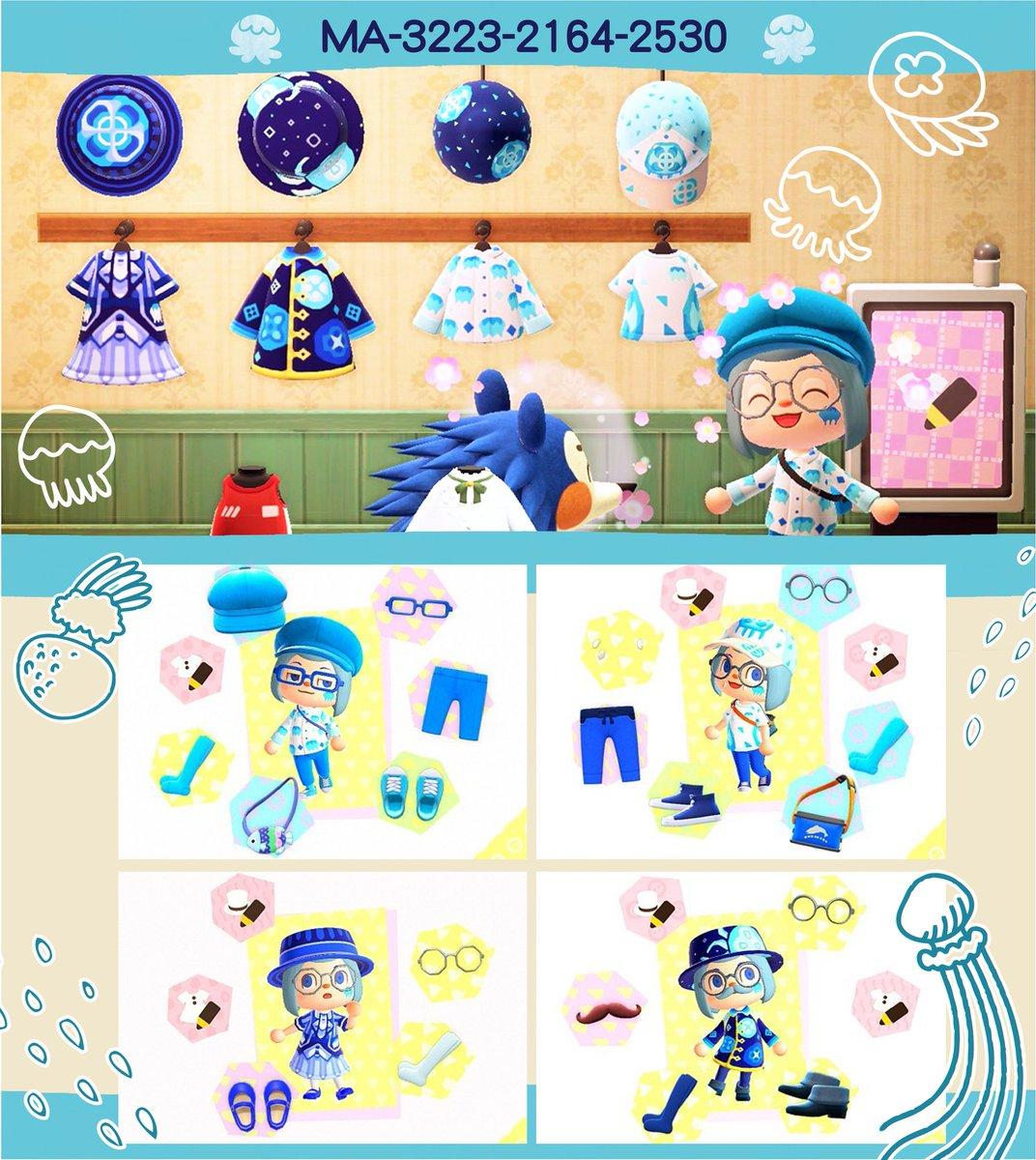 (:ミ 水母衣(:ミ畫了好幾件水母的衣服🎶🎶水母真可愛♥-#水母 #海月 #クラゲ #jellyfish-#動物森友會#あつまれどうぶつの森 #どうぶつの森#AnimalCrossing #ACNH -#マイデザイン #マイデザ#ACNHDesign#AnimalCrossingDesign #ACNHDesigns#AnimalCrossingDesigns