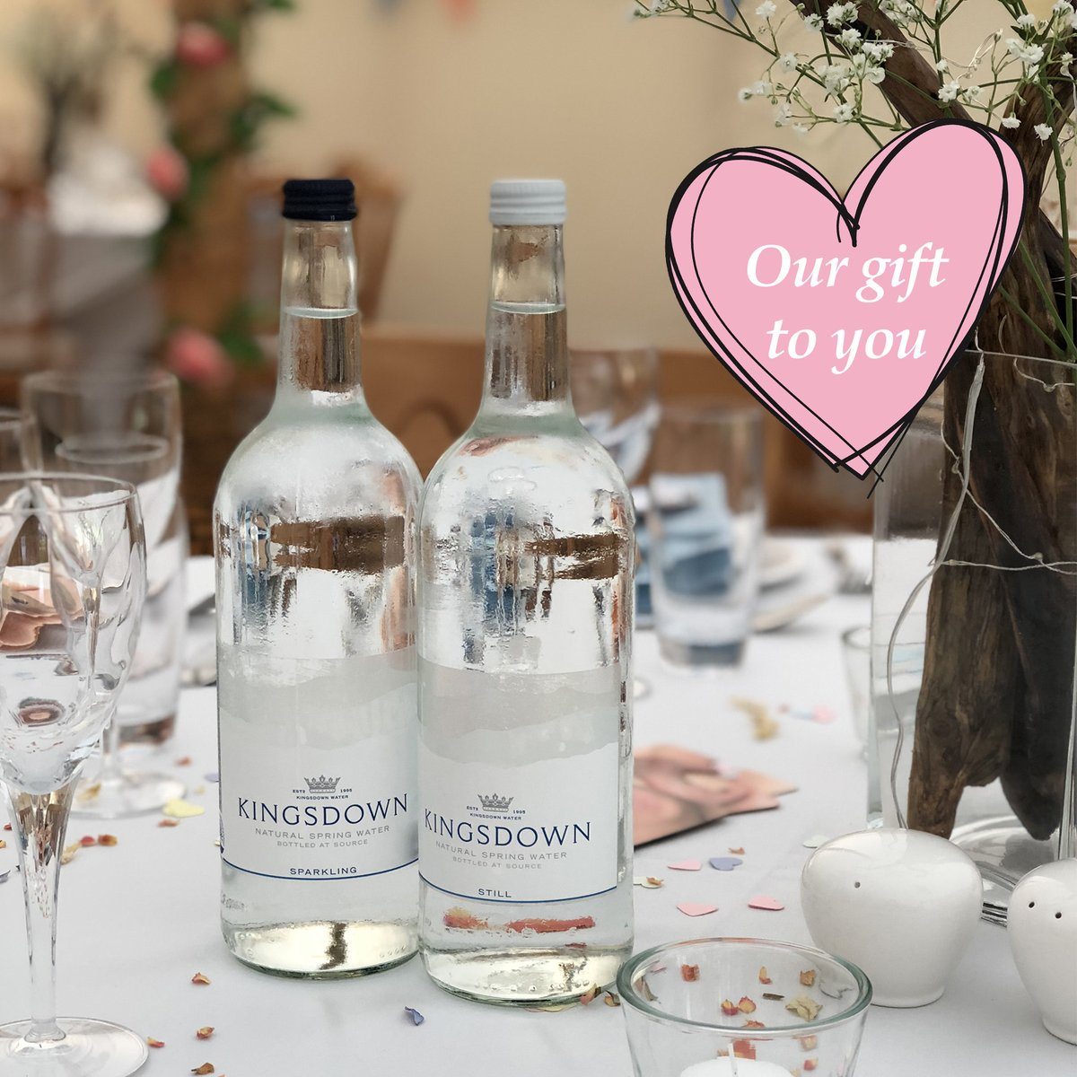 It's #weddingwednesday💍Well that's what we'd usually be talking about this time of year! If you've had to postpone your big day and need a supplier of premium bottled water & luxury soft drinks for your guests, we're offering a discount across our range. Message us for details🥰 https://t.co/HjfZOWMgTK