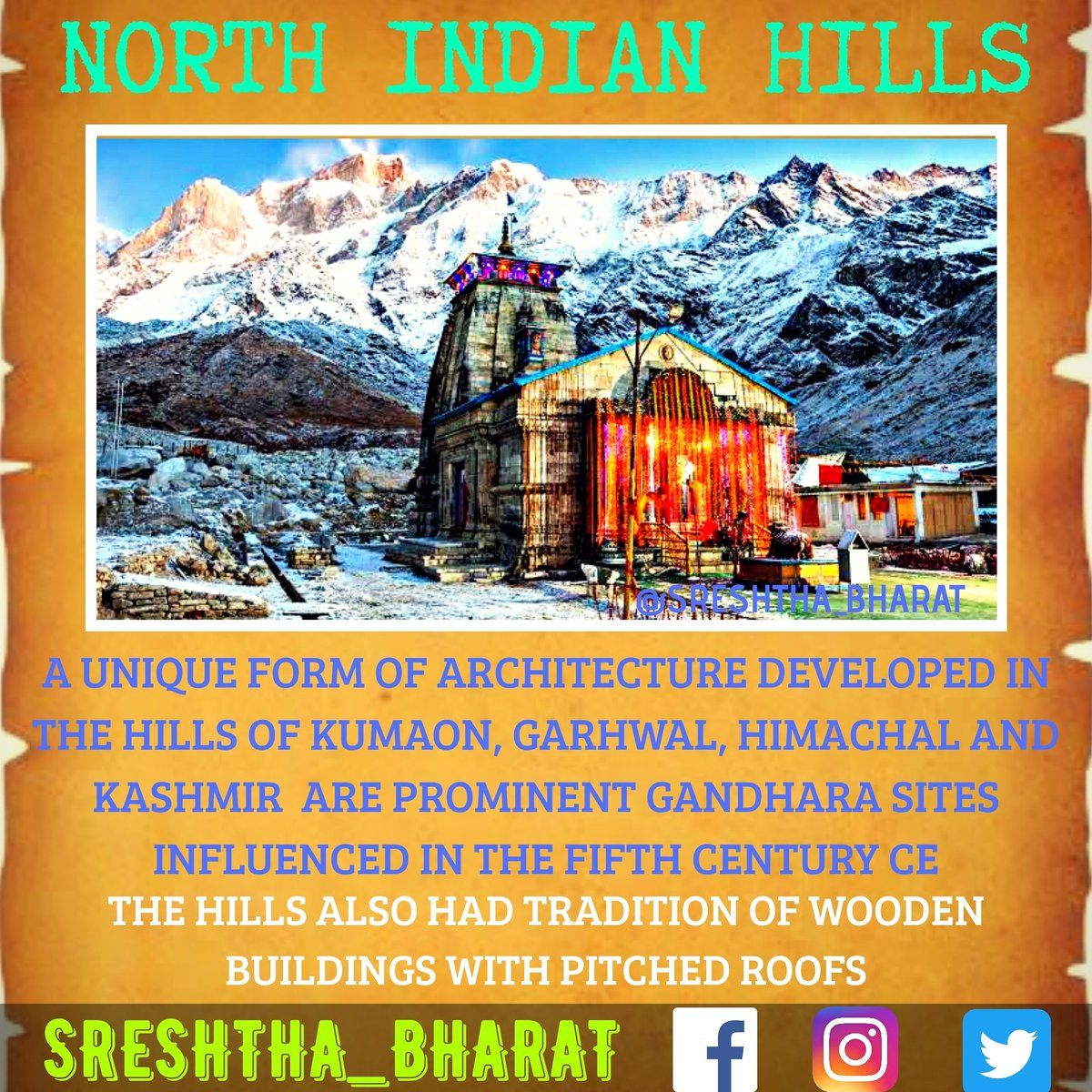 #temple_architecture  We will be getting closer to the Great Temple Architecture of our Sreshtha Bharat  Follow @Sreshthabharat on Facebook | Instagram | Twitter 🙏  #indianculture #indianarchitecture #hinduarchitecture #temple  #worship #templeworship #dravida #mandir #devasthan https://t.co/qdb6d7CMqV