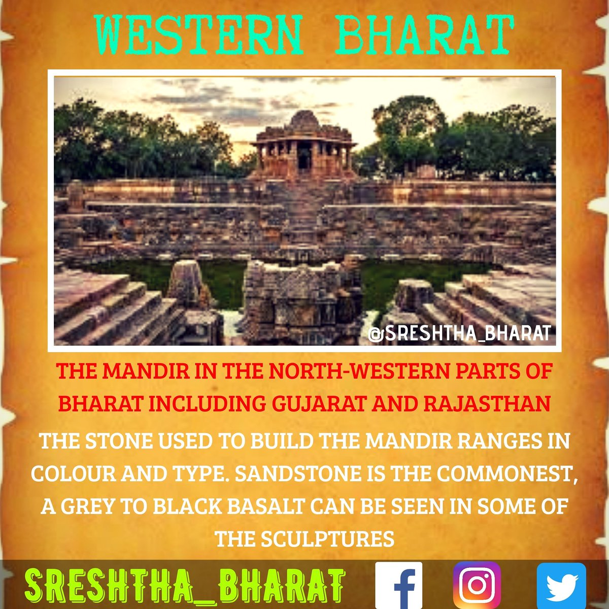 #temple_architecture  We will be getting closer to the Great Temple Architecture of our Sreshtha Bharat  Follow @Sreshthabharat on Facebook | Instagram | Twitter 🙏  #indianculture #indianarchitecture #hinduarchitecture #temple  #worship #templeworship #dravida #mandir #devasthan https://t.co/UNIWA3Ze14