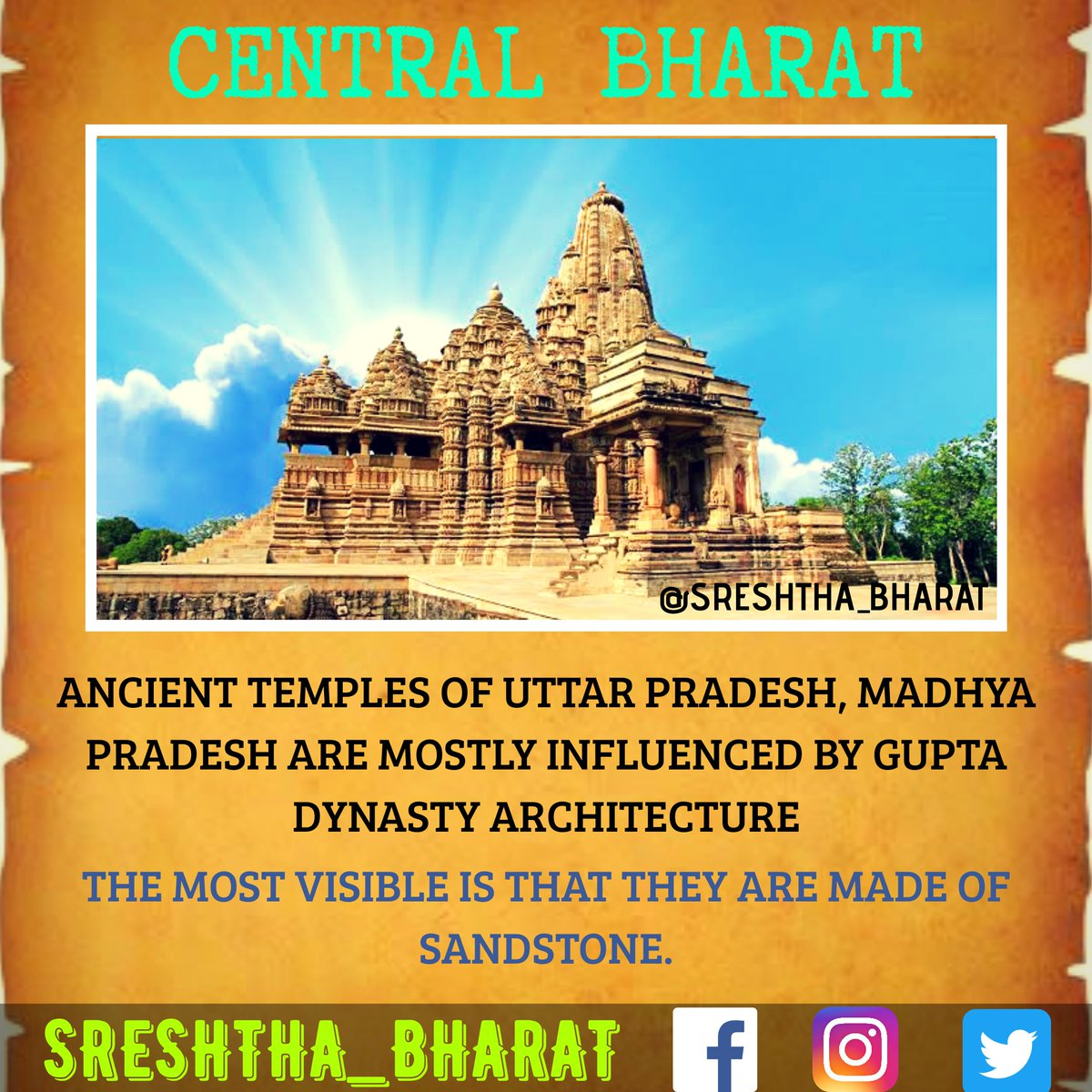 #temple_architecture  We will be getting closer to the Great Temple Architecture of our Sreshtha Bharat  Follow @Sreshthabharat on Facebook | Instagram | Twitter 🙏  #indianculture #indianarchitecture #hinduarchitecture #temple  #worship #templeworship #dravida #mandir #devasthan https://t.co/bHBEvbDFYN