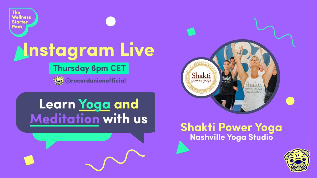 Tomorrow we're hosting another #IGlive, in #TheWellnessStarterPack IG Live series! Tune in at 6pm CET: fal.cn/37H53 @GracieSchram is joined by Murn from @shaktipoweryoga, who will guide you through #yoga & #meditation to reduce stress & tap into your natural vitality!