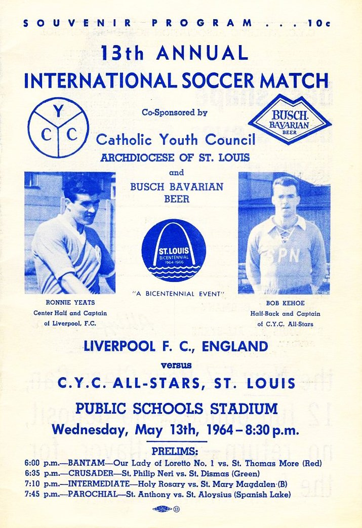 56 years ago tonight in St. Louis: @PlayCYC v @LFC