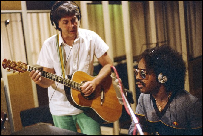 Happy 70th Birthday to Stevie Wonder, I love you brother - Paul