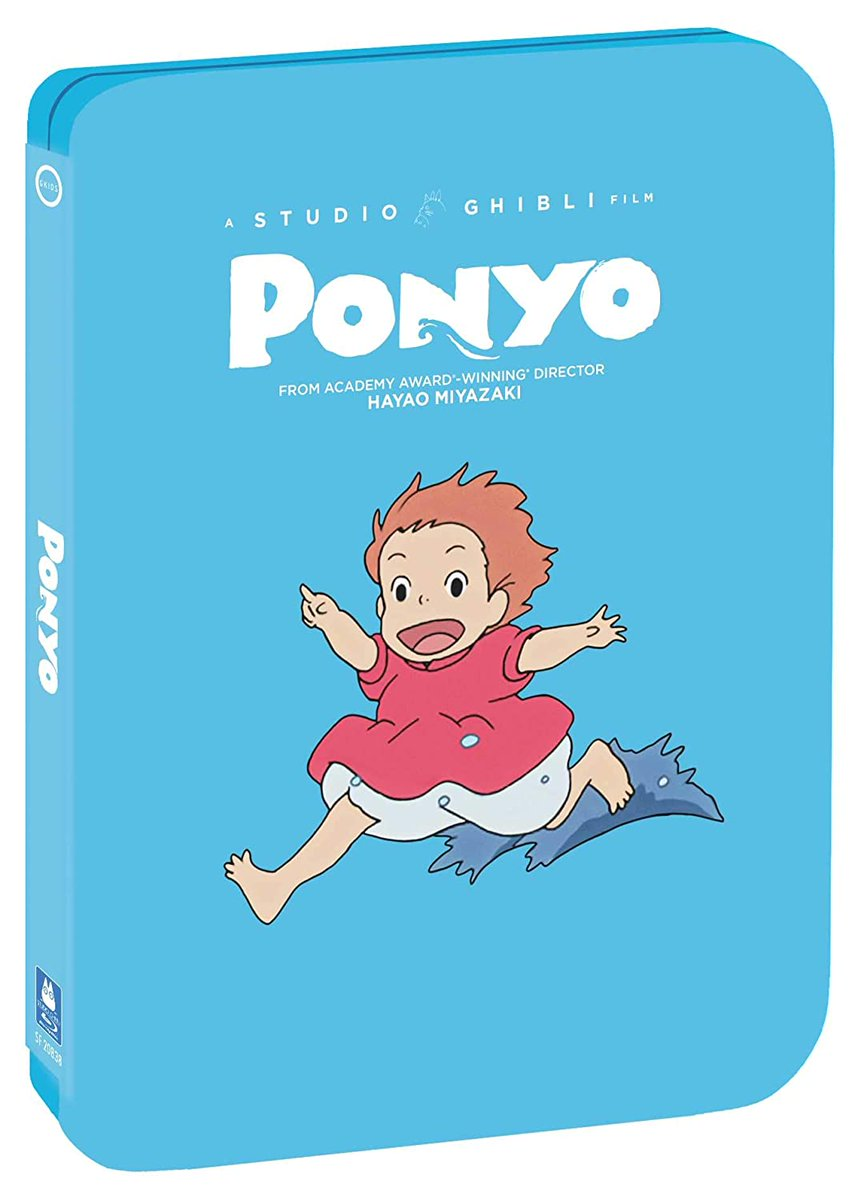 Entertainment Factor On Twitter The Japanese Animated Fantasy Film Ponyo 2008 Has Been Released On Steelbook Blu Ray By Shout Factory Https T Co Rsgkewchfx Anime Animation Ponyo Bluray Steelbook Gkids Shoutfactory Gkidsfilms Https T