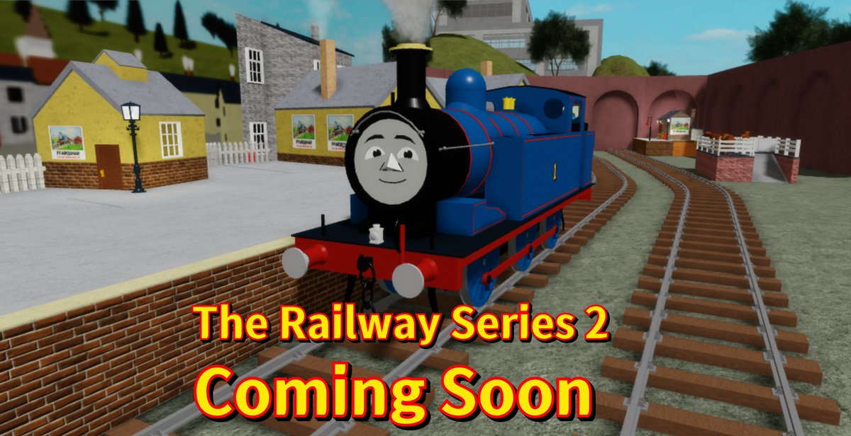 Roblox Thomas Number 1 Thomas Night Train On Twitter We Re Making Second Roblox Game Of The Railway Series Now But It Will Take A Long Time To Finish But Not To Worry The Railway Series Twelve