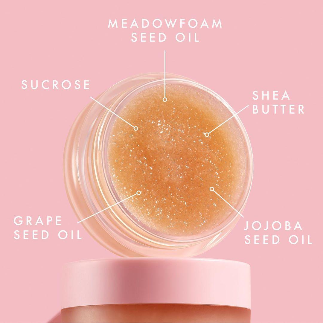my new sugar lip scrub launches on Friday! 9am pst on KylieSkin.com @kylieskin