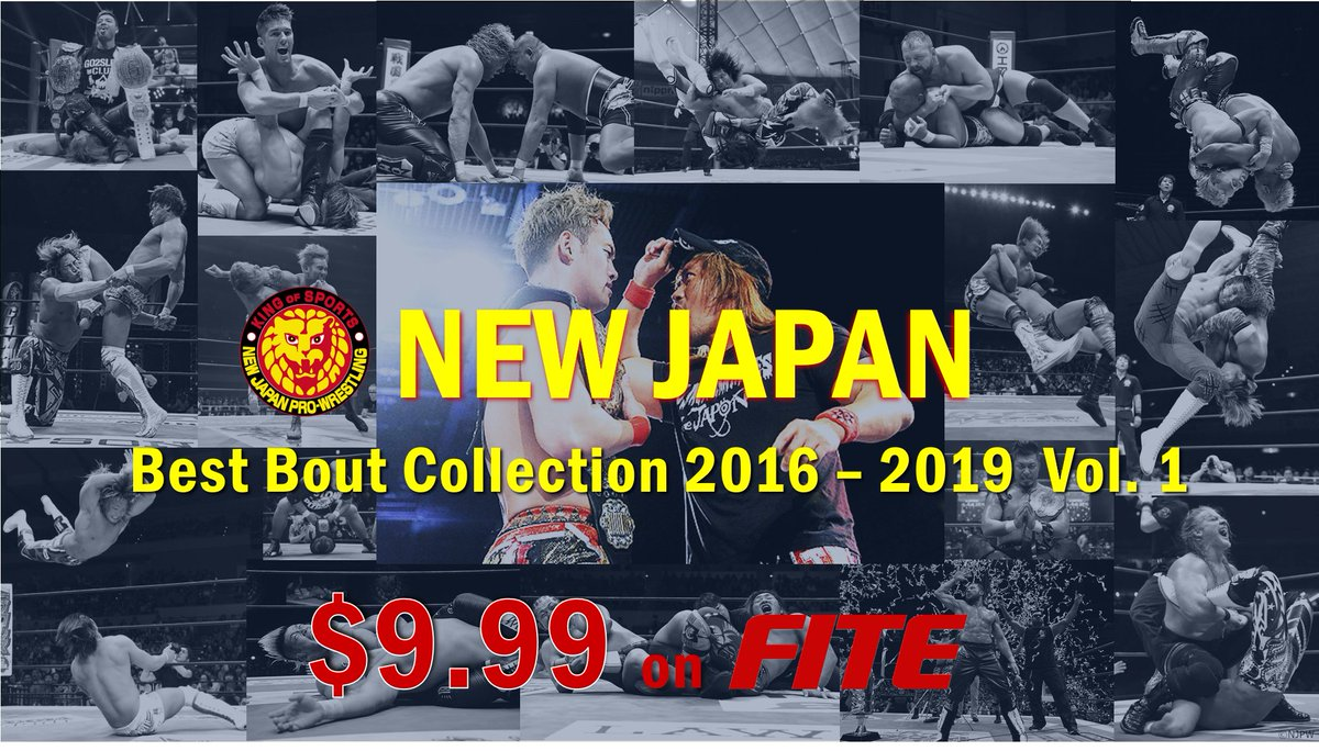 Get a dose of STRONG STYLE  12 full-length matches, 1 incredible price.  Nakamura | Styles #NJWK10 Omega | Naito #G127 Ospreay | Takagi #BOSJ26 Okada | Opsreay #G129  White | Ibushi #G129  These are just 5 of the bouts you'll see!  Sat. | May 16 | 8pm ET  https://www.fite.tv/watch/njpw-best-collection-2016-2019-vol-1/2p77d/…pic.twitter.com/kjguNAWeGZ
