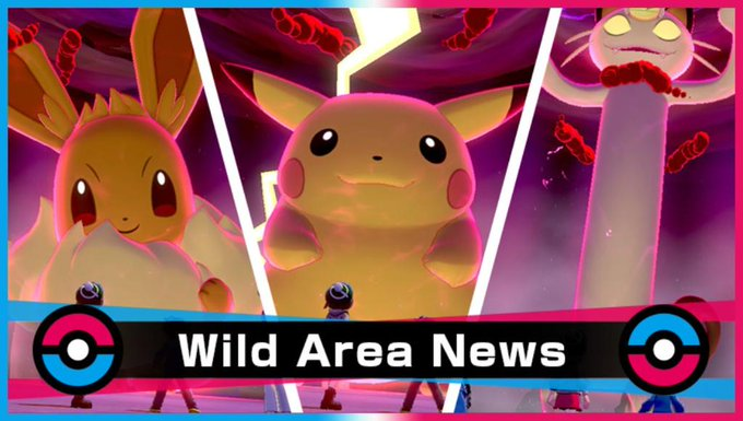 PIIIIII.   Miss your chance to obtain Gigantamax Pikachu, Eevee, or Meowth? They'll be appearing in Max Raid Battles for a limited time!   Get dates and details here: https://bit.ly/360nNHF