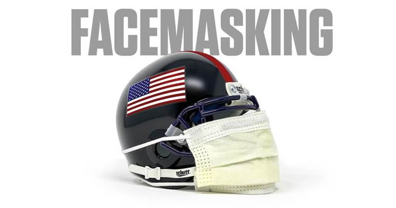 We're throwing out the rule book on this one. Facemasking is more important than ever.