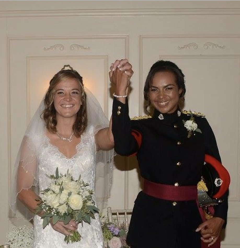 Married couple Staff Sergeant Tara and Major Chantelle are working on the frontline in England and Wales. #inthistogether Here they talk about having to live apart: ow.ly/HFgK50zF72V