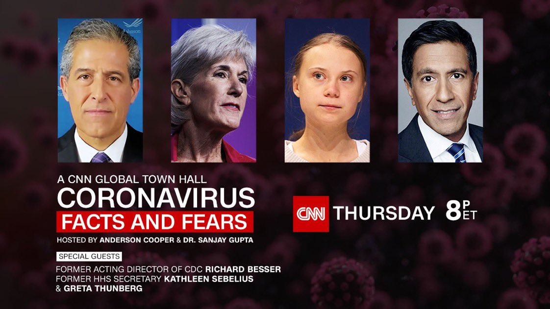 What place does Greta Thunberg have in this town hall? https://t.co/qIKOCV8QcP