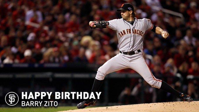 Happy Birthday, Barry Zito!