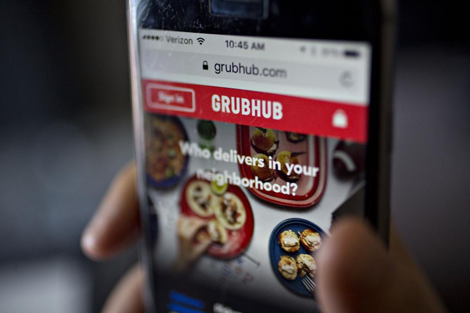Uber's Grubhub play: A desperate bid to save a business everyone By @chloesorvino