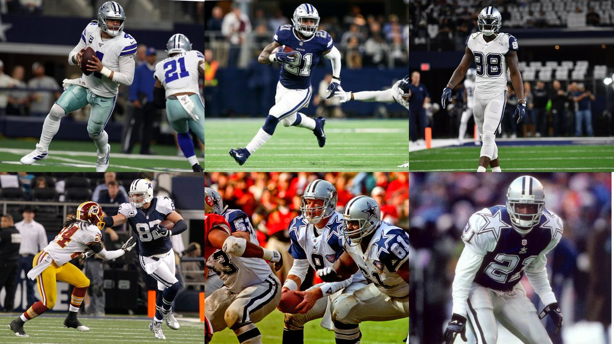 A little surprised seeing the answers to the last question.   Ok....so what is the best #DallasCowboys jersey here? 🤔 https://t.co/Yp5EgHvcSx
