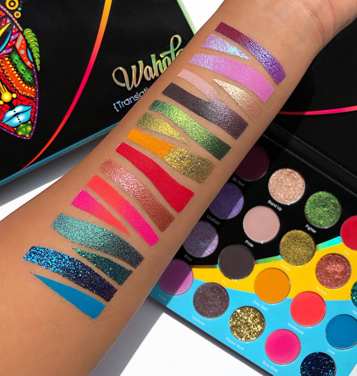 """Juvia's Place on Twitter: """"Our 20 pan Wahala {Drama}Eyeshadow Palette is  now available on our website 😍… """""""