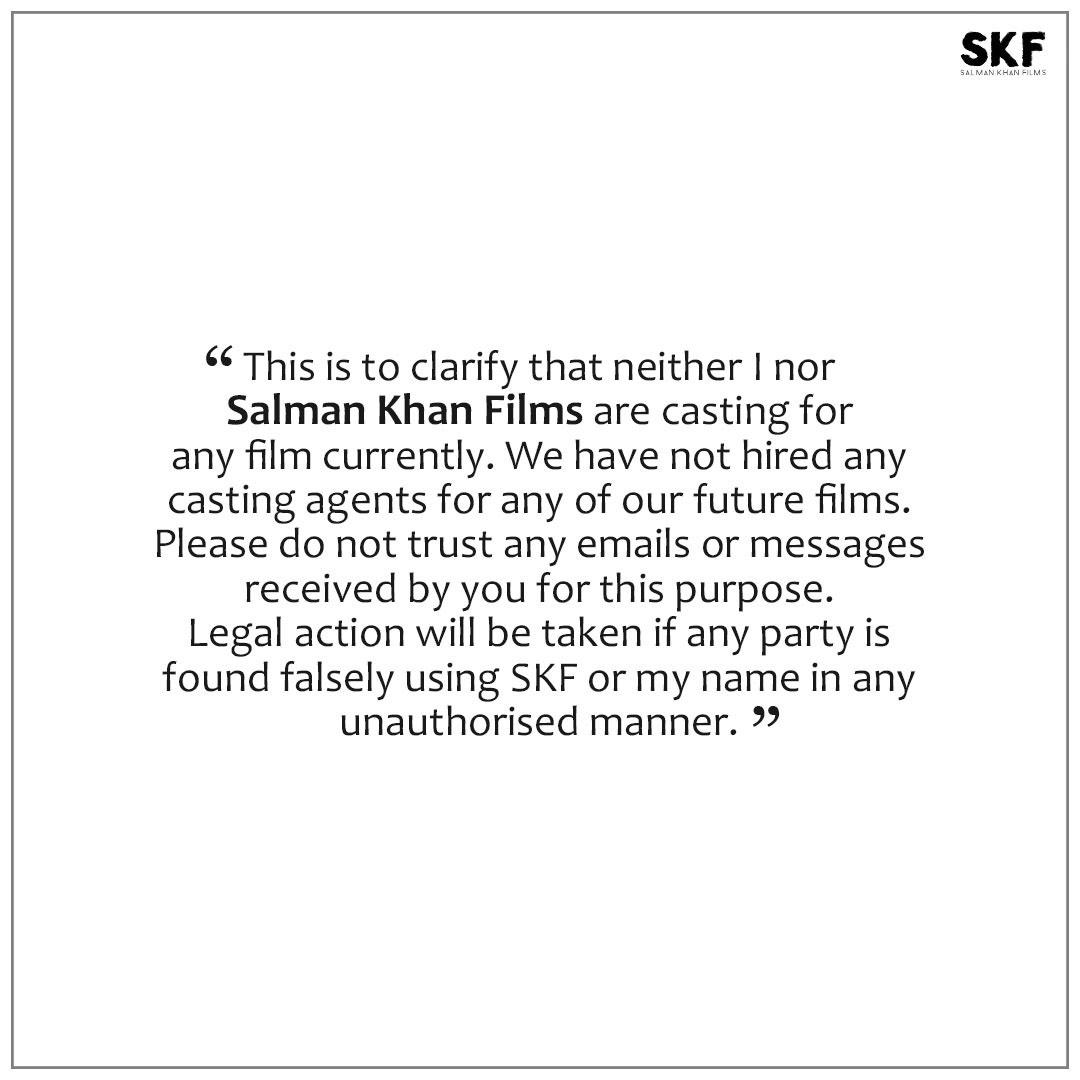 Mat karo rumours pe trust.... #staysafe @SKFilmsOfficial