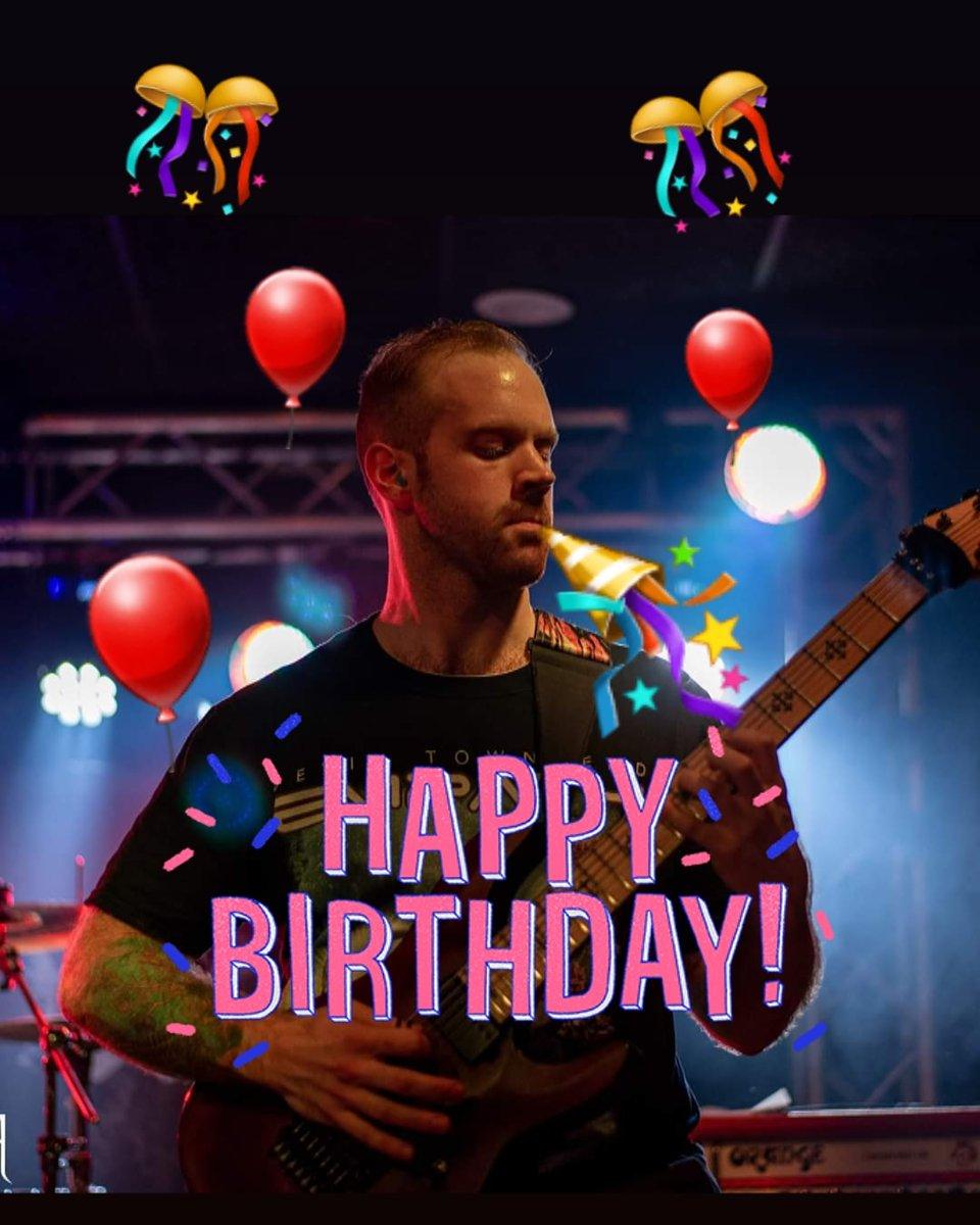 Everyone help us wish our rhythm axeman a happy birthday! . . . #svn_seeker #ctmetalcoalition #ctdeathmetal #rhythmguitarist #schecterguitars #happybirthday #birthdayboipic.twitter.com/LLjc6J1rbC