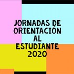 Image for the Tweet beginning: Jornadas de Orientación al estudiante