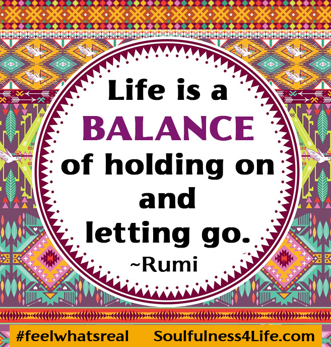 SoulQuestion: (For Contemplation and Conversation) What do you observe about your patterns of holding on and letting go?https://t.co/k3gCY0BkR1  #WednesdayWisdom #quotes #inspiration #meditation #mindfulness #balance #lifebalance #letitgo #wellness #wellbeing  #empowerment https://t.co/j3zeSACOEA