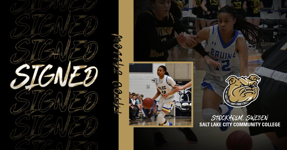 We want to officially welcome Fatou Jallow to our Bulldog family as she helps finalize our incoming class!   Welcome to Bryant!  #AllHeart | #AllHustle | #WeAreBryant https://t.co/cYG78isIO6
