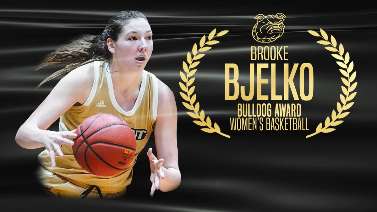 @BryantFH @BryantMTennis 𝐁𝐮𝐥𝐥𝐝𝐨𝐠 𝐀𝐰𝐚𝐫𝐝  Congratulations Brooke Bjelko from @Bryantwbball!  #WeAreBryant https://t.co/8MyuSDodba