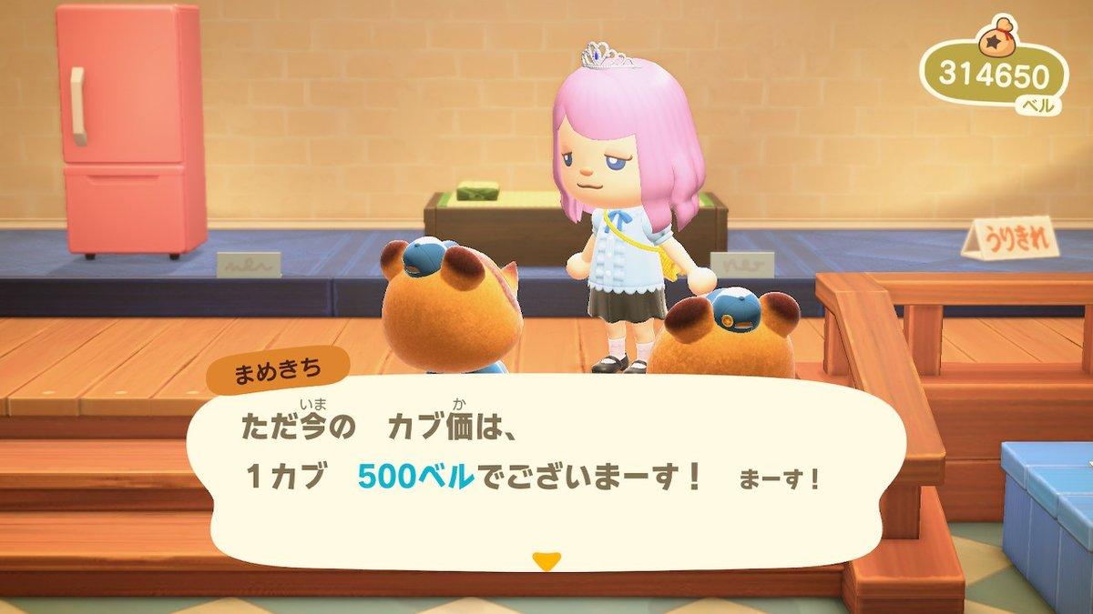 カブ価 500ベル