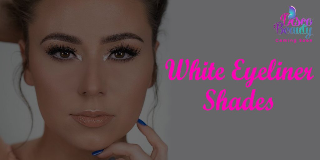 White eyeliner shades from Disco Beauty makes your look different and attractive. #discobeautyonline #fashion #beauty #cosmetics #makeup #UnitedStates #makeuplook #makeupaddict #makeupdolls #makeupwedding #makeuptime #makeupartist #makeupjunkie #makeuploverpic.twitter.com/TifYbH6SjV