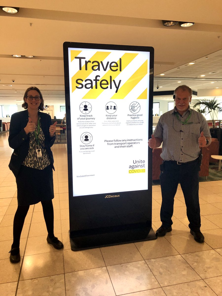 Alert Level 2 allows a number of domestic flights to operate and we can't wait to welcome you back! We continue to follow Ministry of Health guidance on safety measures and ask you to do the same. 👉🏻 For the latest COVID-19 airport updates: christchurchairport.co.nz/covid-19-updat…