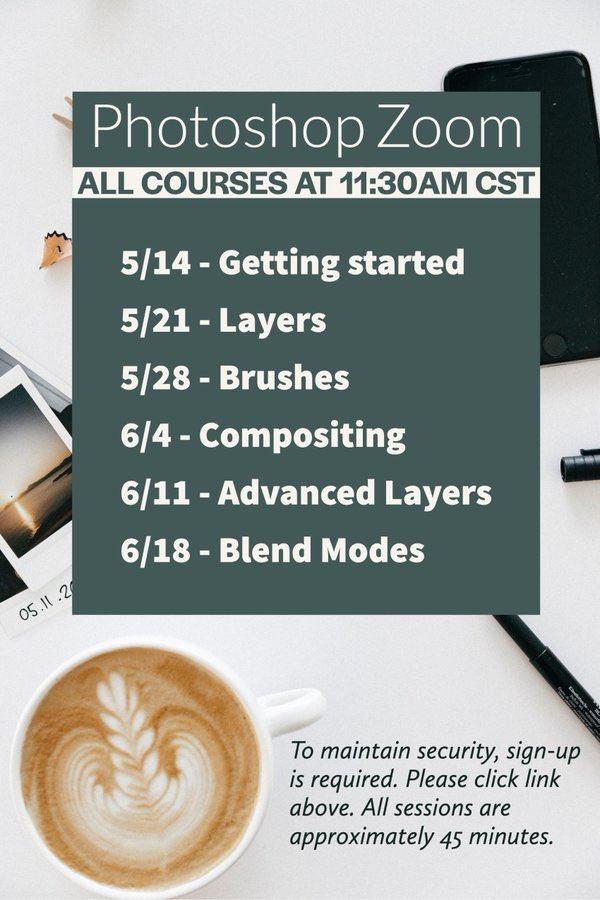 @MsZenTech @TCEA @iste @Photoshop @AdobeForEdu It's happening! Y'all go sign up....
