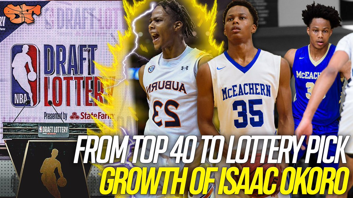 NEW: From TOP 40 to POTENTIAL LOTTERY PICK!!! GROWTH of ISAAC OKORO | HS Career Highlights  📺: https://t.co/nJKBnMOFKD  @isaacokoro303 @McEachernSports @AOTBasketball https://t.co/Y1MU1t563L