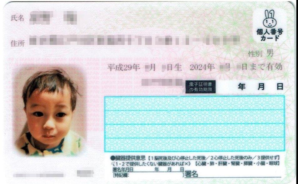 ナンバーカード 子供 写真 マイ