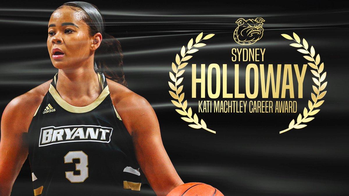 𝐊𝐚𝐭𝐢 𝐌𝐚𝐜𝐡𝐭𝐥𝐞𝐲 𝐂𝐚𝐫𝐞𝐞𝐫 𝐀𝐰𝐚𝐫𝐝  Congratulations Sydney Holloway from @Bryantwbball!   #WeAreBryant https://t.co/4DgTJ4Nx3a