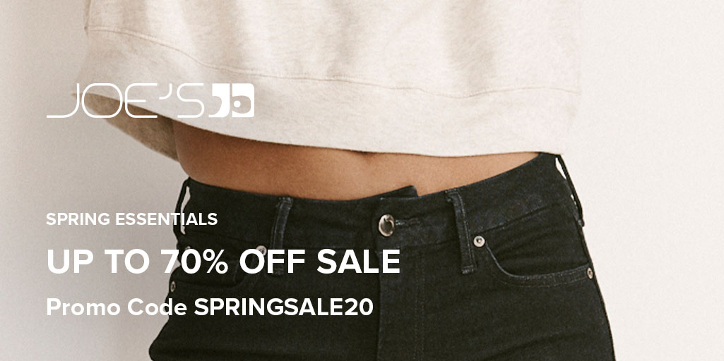 The spring essentials you need are now on sale. Get up to 70% off women's & men's items with code SPRINGSALE20. https://t.co/6zzZiXcYiv https://t.co/YF3EjWL3HP