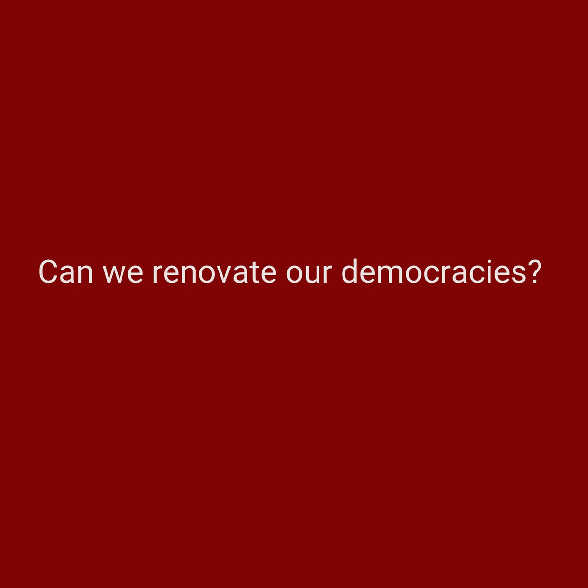 (All) the biggest questions stand naked before us: Part 3. #thoughtseries  #FutureOfDemocracy https://t.co/e3EHG7taHz https://t.co/wWbWjHA3r9