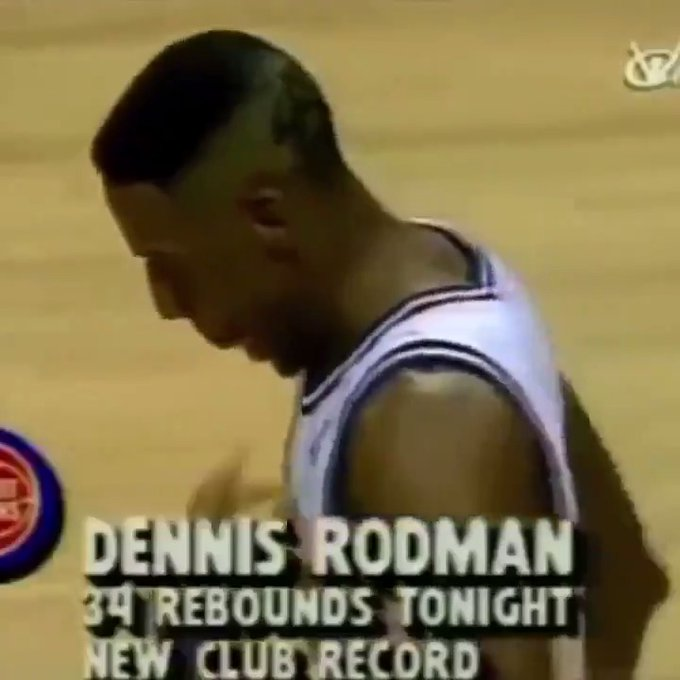 Every team needs a Dennis Rodman. Happy birthday to the legend.