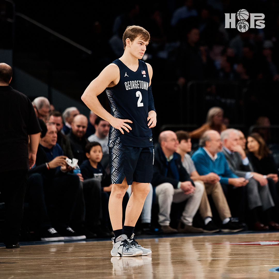 "Mac McClung is withdrawing from the NBA Draft and transferring from Georgetown, reports @DraftExpress.   ""It was a number of different events that made me feel I had no choice but to transfer from Georgetown."" https://t.co/RrsNUeXLj8"