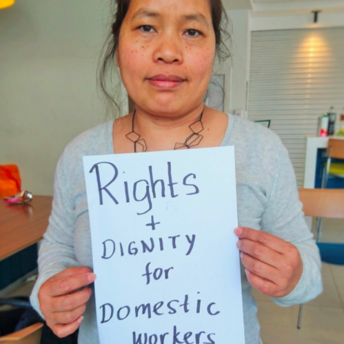 Stop what youre doing: this is so important. Migrant domestic workers - who are terribly paid at the best of times - are in crisis. @thevoiceofdws have set up a hardship fund. If you have anything to spare, please donate here >> thevoiceofdomesticw.wixsite.com/vodwuk/single-…