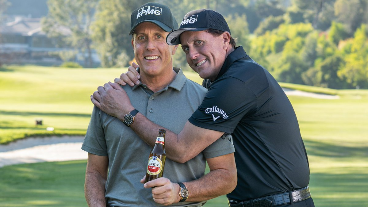 Golf is back! Want to watch the big match at home with our friend @PhilMickelson? A life-sized cardboard cut out of Phil, that is. Like you, our plans changed & we've got lots of them. Want one?  RT & FOLLOW @AmstelLight to enter #sweeps #FriendsWithPhil