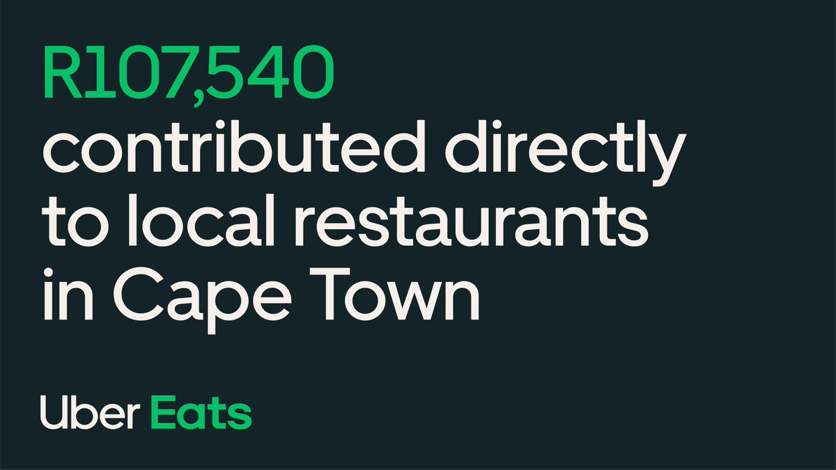 Thank you, Cape Town, for supporting local restaurants like @nurisushi and @TigersMilkZA. 💚 You're helping them keep communities fed and #MoveWhatMatters. https://t.co/FpDpXFoIeG