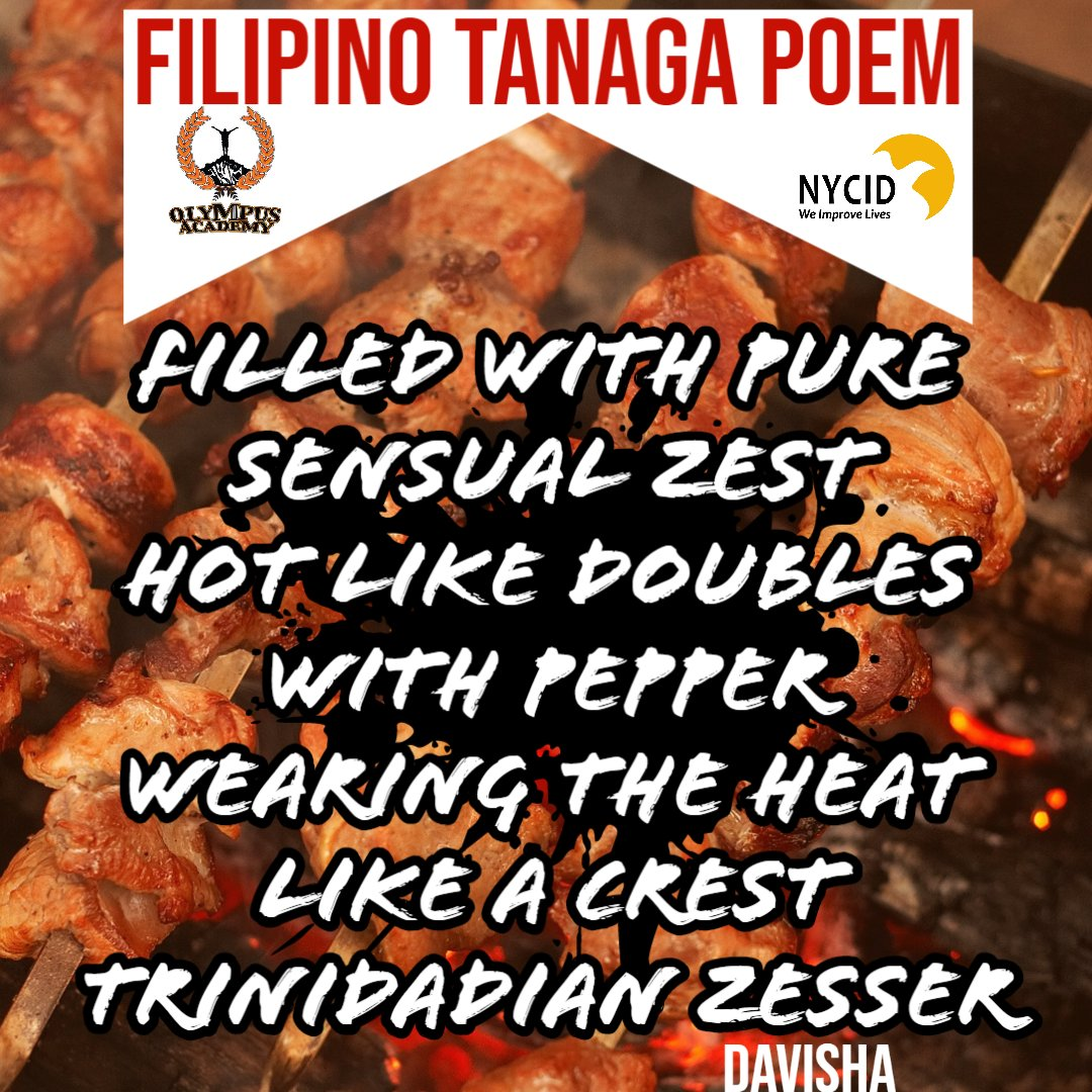 😀🎉Congratulations🎉😀 to the winners of Week 3 - Olympus Academy's poetry contest! Davisha wrote a spicy poem about Filipino food🍲 and Akia wrote a palindrome poem about the fight of life👊.  Great job showing your creativity!🎆  #WeImproveLives #QuarantinePoetry https://t.co/nk2GvMx1ag