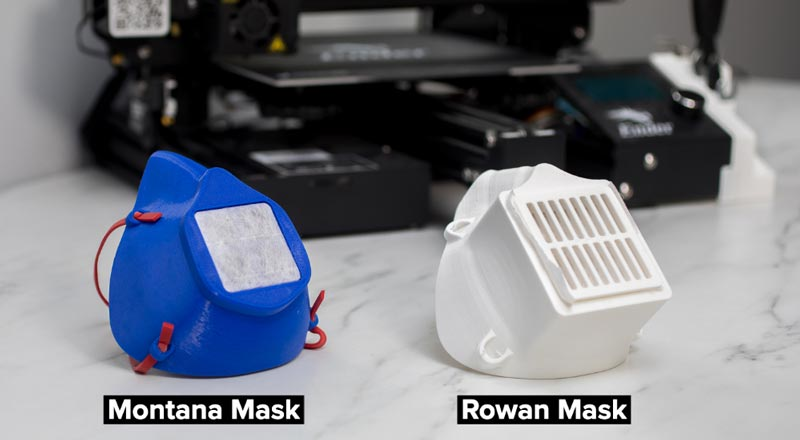 Learn how to 3D print the most popular respirator-style mask designs. Our Lessons From The Field series continues with best practices on how to source materials, optimize your prints, and build the final assembly.   #COVID19 #InThisTogether