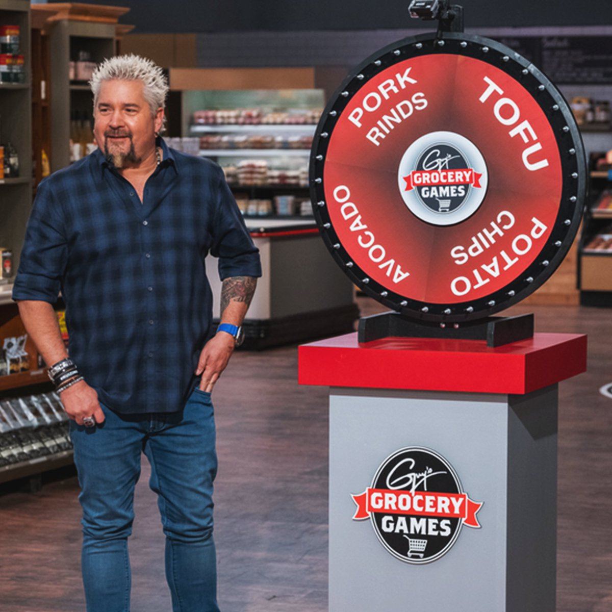 We're wheelin' and dealin' on tonight's episode of #GroceryGames 😂