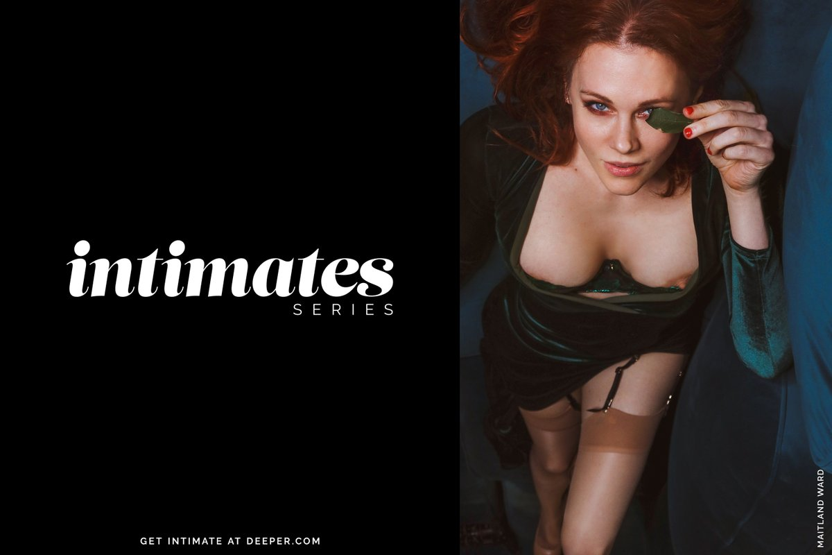 So excited that @maitlandward is our debut model in the brand new Intimates series from Vixen Media Group! Watch her brand new content now on Deeper.com!