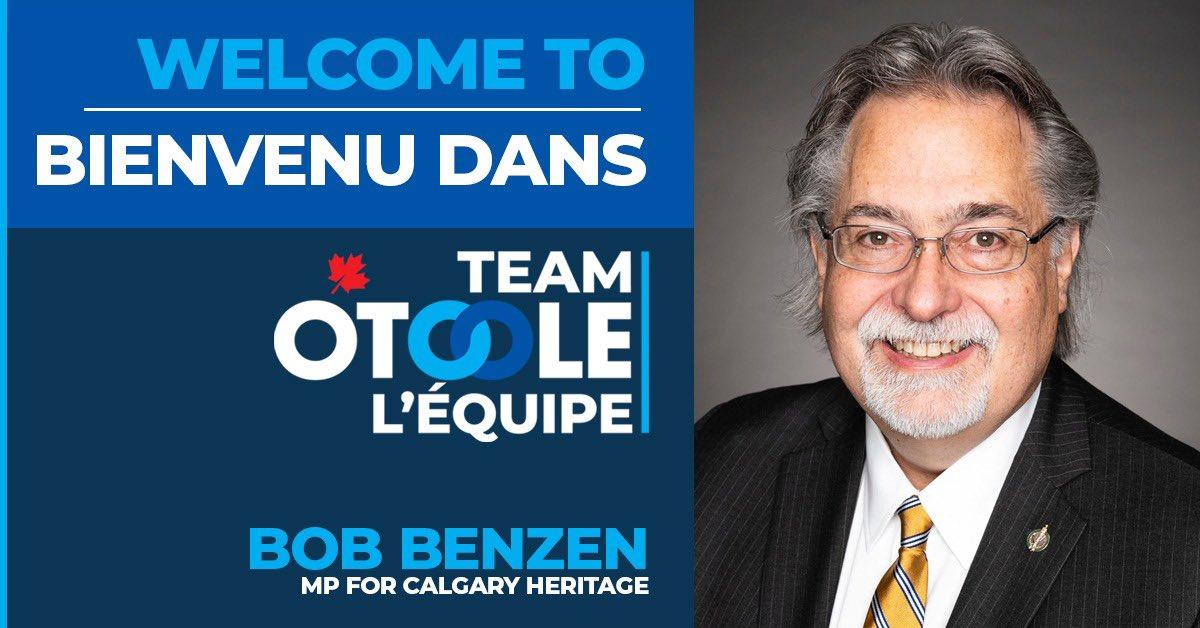 Welcome / Bienvenue, @BobBenzen! https://t.co/0CYJGDVZ4u