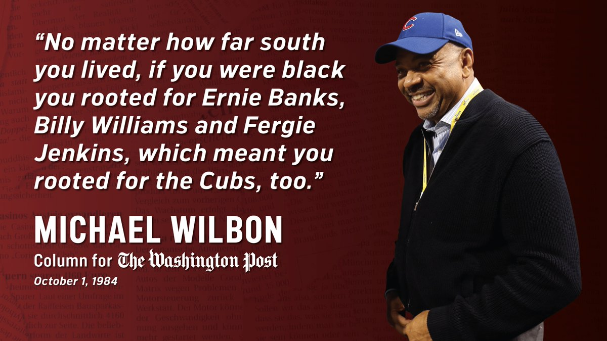 .@RealMikeWilbon talked about the impact Ernie, Billy & Fergie had on him as a kid.