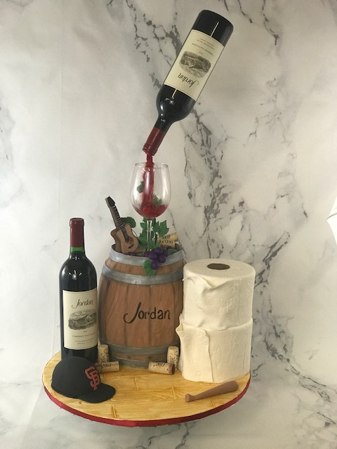 Happy Birthday to our friend, Barry Zito We hope you enjoy your Jordan cake!