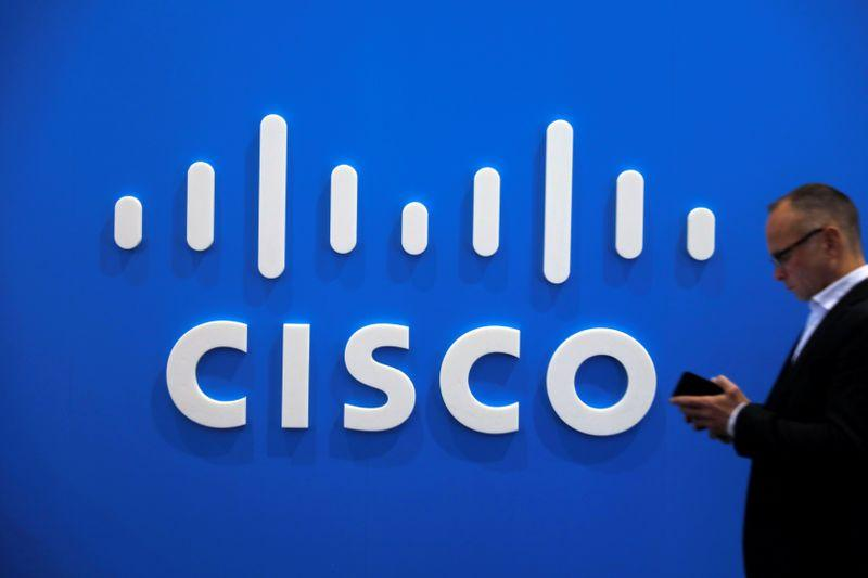 Cisco's third quarter gets boost from demand for work-from-home apps